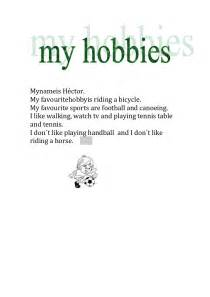 My Favourite Hobby Essay by Students Hobbies