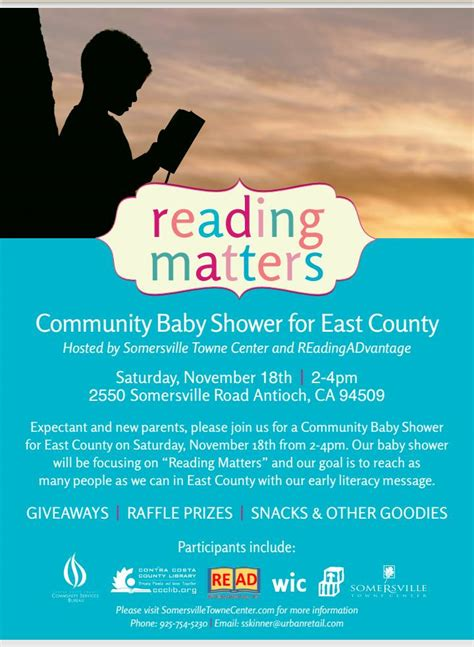 Community Baby Shower by Community Baby Shower For East County Antioch On The Move
