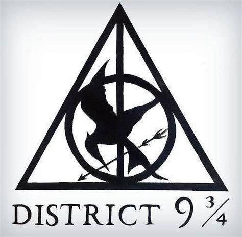 Harry Potter Hunger Games District Symbol