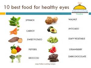 how to better your eye vision 10 vegetables and fruits for better vision of