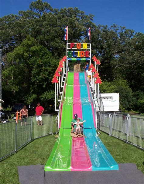 slides carnival themes fun slide rental awesome amusements party rentals