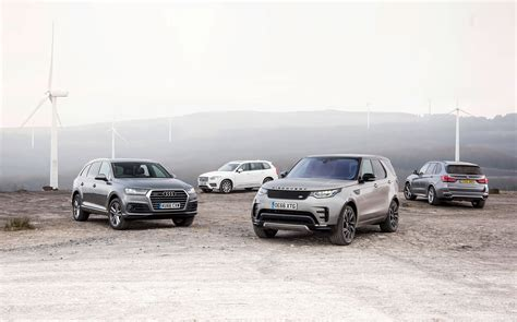 Bmw X5 Vs Audi Q7 by Land Rover Discovery Vs Audi Q7 Vs Bmw X5 Vs Volvo Xc90