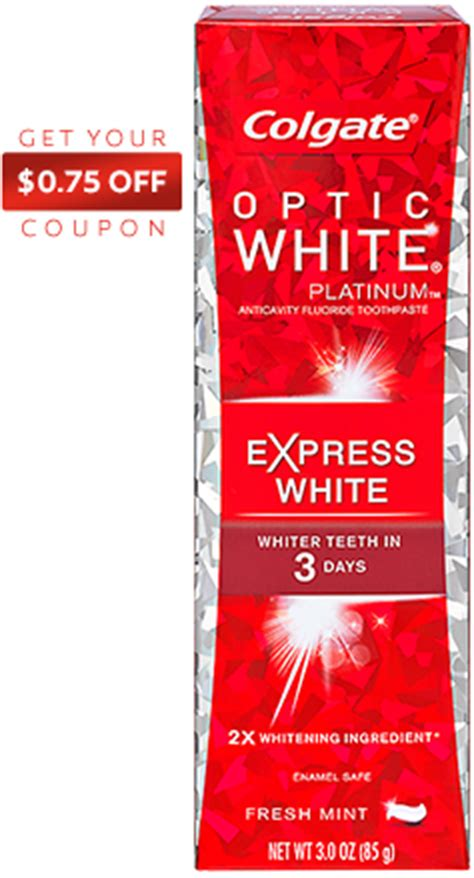 best colgate toothpaste for whitening teeth whitening toothpaste colgate 174 optic white 174