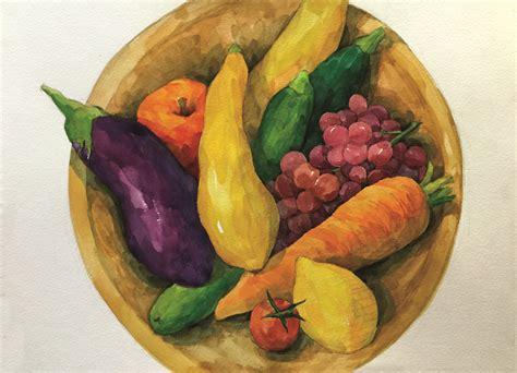 vegetables painting vegetable painting www imgkid the image kid has it