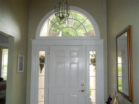 interior doors with arched transom decor tips front entry door with sidelights and arched