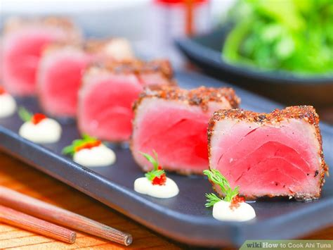 3 easy ways to cook ahi tuna wikihow