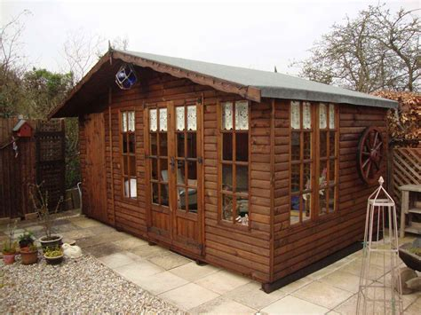 Shed And Summerhouse Combined by Summer Houses Garden Rooms Home Offices Bespoke Mb