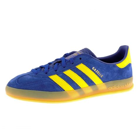adidas gazelle original adidas originals gazelle indoor trainers in blue for men