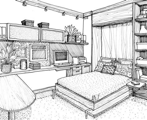 bedroom perspective drawing bedroom drawing ideas simple design 1 on living room