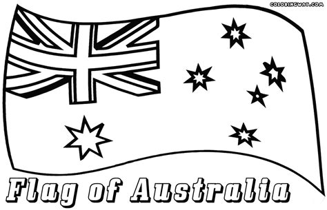 Australian Flag Coloring Pages Coloring Pages To Australian Flag Colouring Page