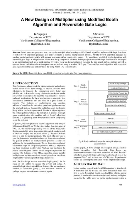 design of booth multiplier a new design of multiplier using modified booth algorithm