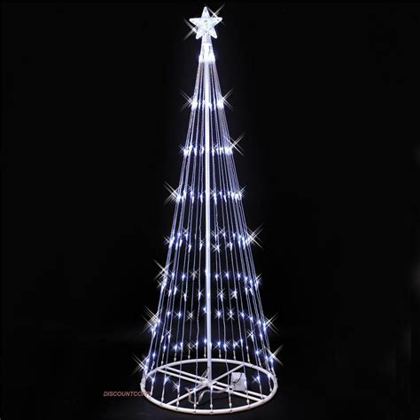 9 ft lighted trees 9 ft outdoor led lighted show cone tree 9 motion effects