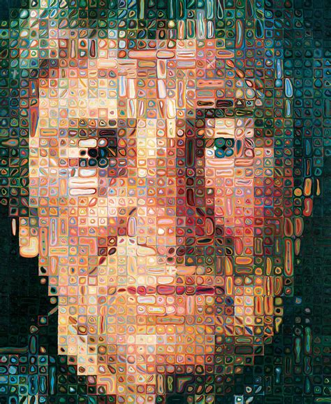painting work chuck close painting owu