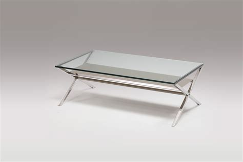 stainless steel glass coffee table coffee table in glass and stainless steel