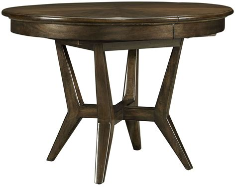 table santa clara santa clara burnished walnut extendable dining table
