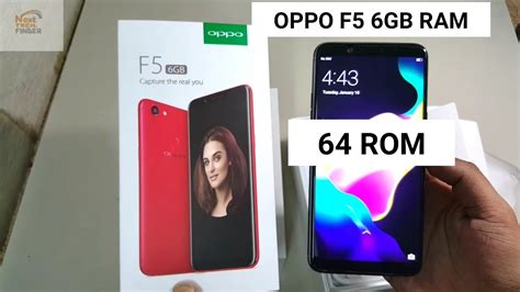 oppo f5 6gb ram 64gb rom unboxing oppo f5 6gb unboxing