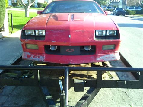 91 camaro z28 parts parting out complete 91 z28 in san jose ca area third