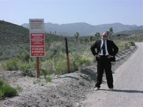 Photographers In The Area by Area 51 Remains A Subject Of Speculations About Aliens And
