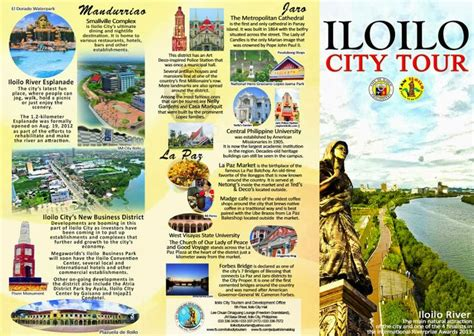 layout artist hiring in cebu new iloilo city tourism brochure now available for