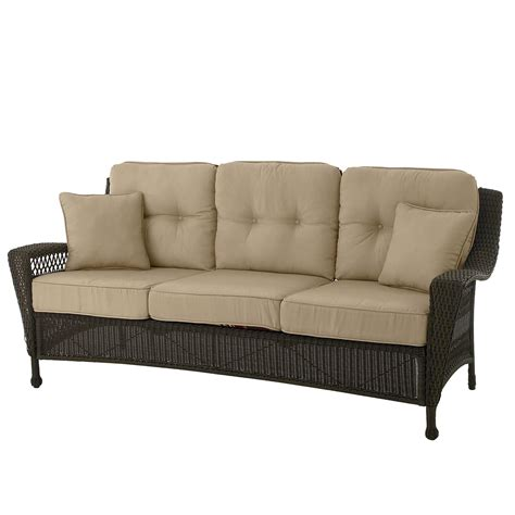 country living concord 3 seat patio sofa outdoor living