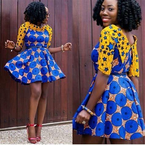 short ankara gowns creative ankara short gown dress dezango fashion zone
