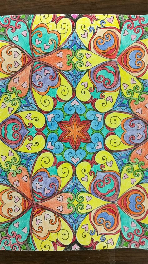 colored pages kaleidoscope wonders color for everyone imgur