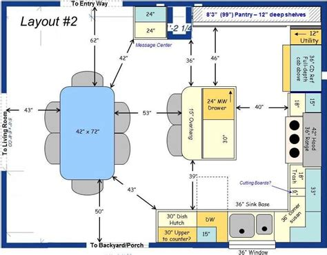 7 X 12 Kitchen Layout by 12 X 20 Kitchen Layouts Clearance For Kitchen Flow For