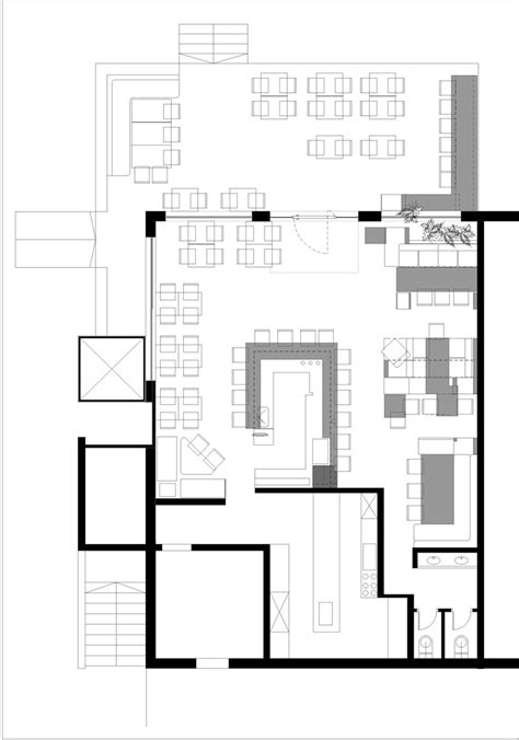sle floor plan of a restaurant restaurant floor plans home design blog gallery of