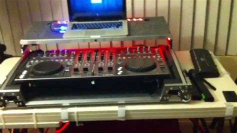 dj tips and cable tuck custom case for pioneer ddj t1 dj