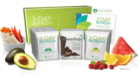 Shakeology Detox Review by Shakeology Cleanse 3 Day Refresh Femenine Fitness
