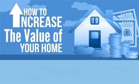 how to increase the value of your home infographic