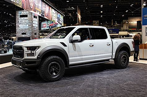 2017 ford raptor at the chicago auto show ford trucks