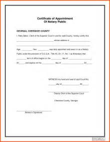 signature template for word notary signature format program format