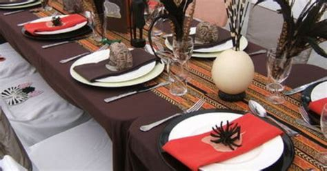 decorations catalogs this is how african home decor african themed tablescape party ideas pinterest