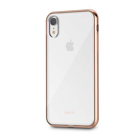 funda iphone xr moshi vitros oro rosa