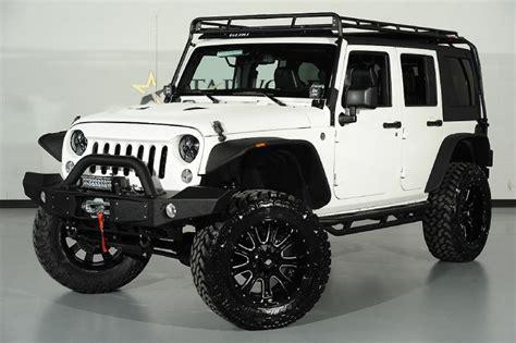 custom jeep white custom white jeep wrangler unlimited imgkid com
