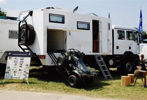 4x4 Overland Cer With Garage Survival Vehicles
