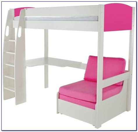 stompa high sleeper with desk and futon stompa high bed futon futons home design ideas qmpwzaqbnw
