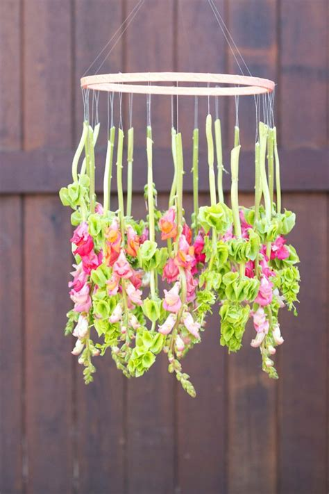 Diy Hanging Chandelier Diy Hanging Floral Chandelier The Sweetest Occasion