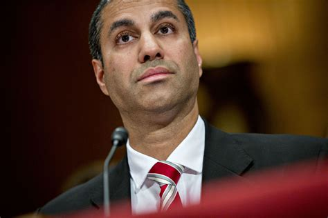 ajit pai age ajit pai accused of conflict for helping former client a