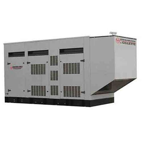 gillette 350kw diesel standby generator spmd 3500