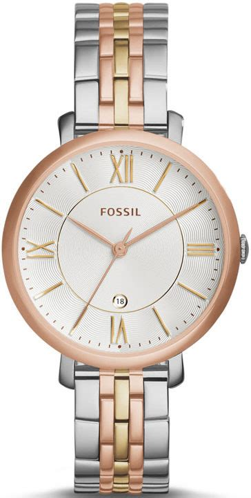 Fossil Es3844 Jacqueline s tri tone fossil jacqueline stainless steel