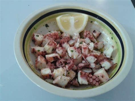 cucinare polipo congelato polpo in insalata la cucina di milena