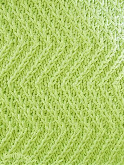 zig zag stitch pattern twist zig zag knitting stitch patterns