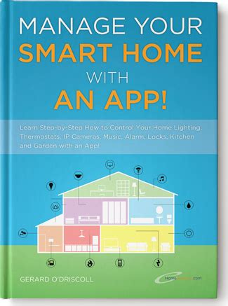 home automation book manage your smart home with an app