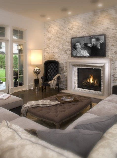 Living Room With Tv Fireplace This Is The Exact Set Up I Want In My Living Room I Want