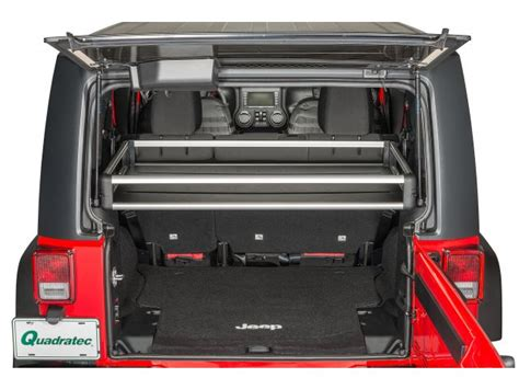 Rear Cargo Rack For Jeep Wrangler Teraflex 4820000 Teraflex Rear Utility Cargo Rack For 07