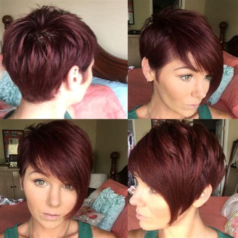 growing my hair after a asymetrical cut 153 best images about pixie cut on pinterest short pixie
