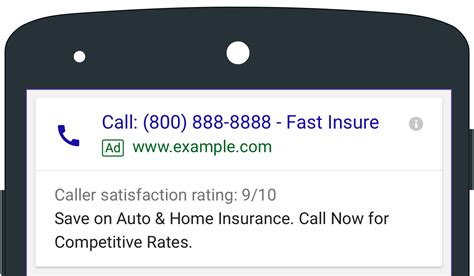 Search For By Name Only Rolls Out Adwords Account Level Call Extensions