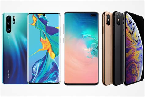 samsung galaxy s10 vs huawei p30 pro vs iphone xs best deals in south africa